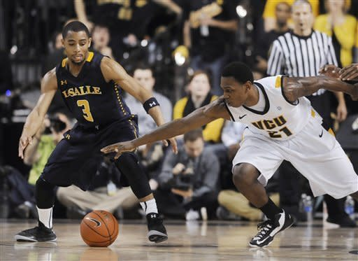Galloway's 31 carry La Salle past No. 19 VCU