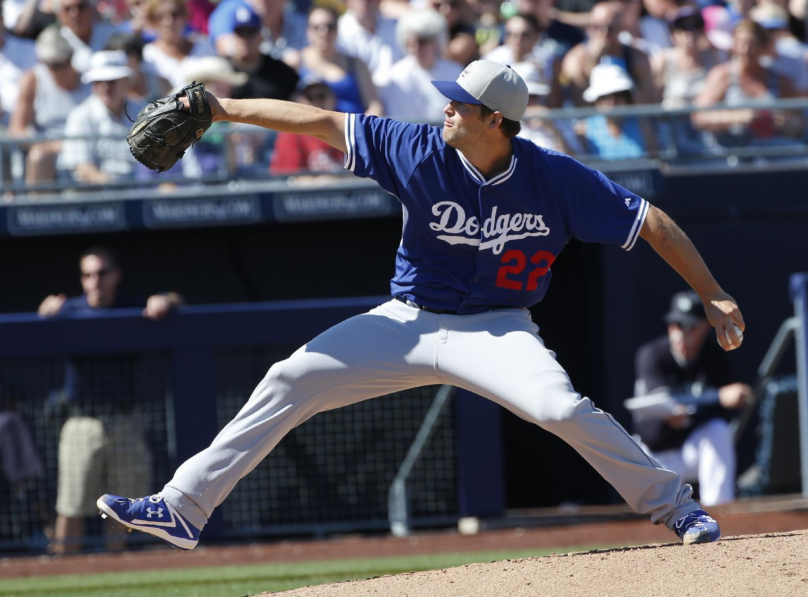 Kershaw whiffs 8 in 1st outing since taking liner off jaw