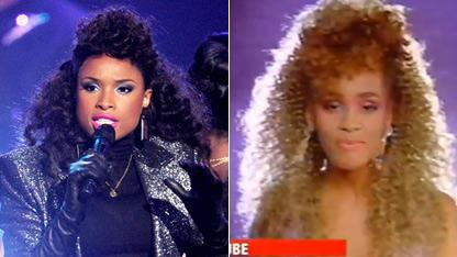 Jennifer Busts Out Whitney's Iconic '80s 'Do