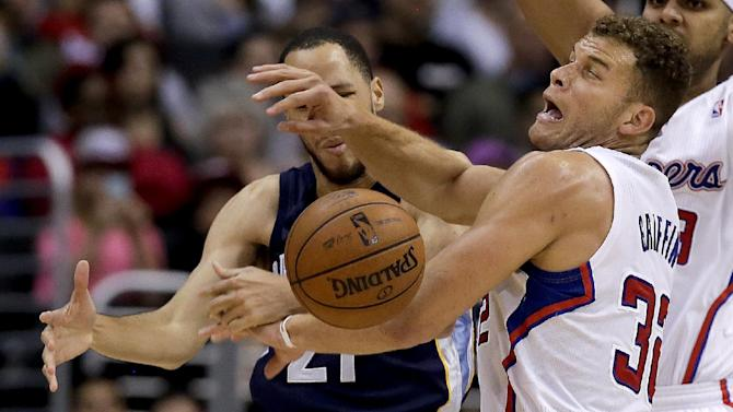 Conley, Randolph lead Grizzlies over Clippers