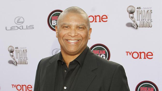 FILE - In this Feb. 22, 2014 file photo, Reginald Hudlin arrives at the 45th NAACP Image Awards at the Pasadena Civic Auditorium, in Pasadena, Calif. The Academy of Motion Picture Arts and Sciences says David Hill and Hudlin will produce the 88th Oscars telecast. The Academy announced Tuesday, Sept. 1, 2015, that they'll take up the mantle from Neil Meron and Craig Zadan, who produced the show for the past three years. (Photo by Arnold Turner/Invision/AP, File)