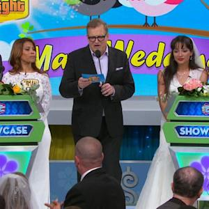 Drew Carey Officiates Mass Wedding on 'Price is Right'