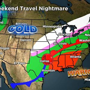 Storms threatens holiday travel