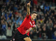 Cardiff's Mark Hudson scored the winning goal