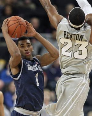 No. 10 Georgetown shuts down Providence, 63-53