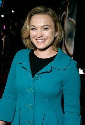 Sophia Myles at the Los Angeles premiere of Warner Bros. Pictures' 10,000 B.C.