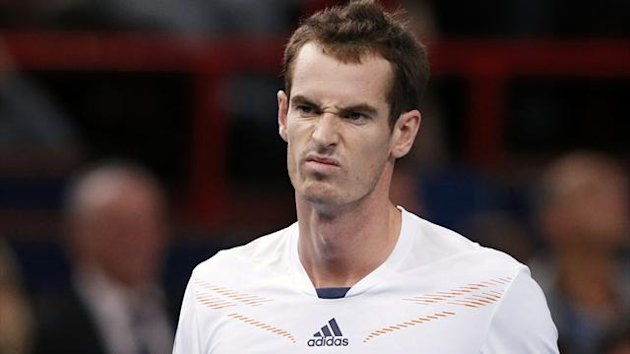 2012 Paris Masters Andy Murray