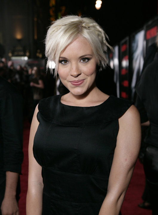 Max Payne LA Premiere 2008 Brea Grant