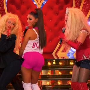 Dueling Divas Hayden Panettiere and Eva Longoria 'Lip Sync Battle'
