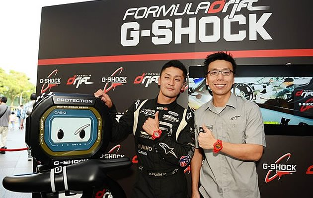 Driving the evolution of Formula Drift in Asia: Ken Gushi and Marcus Lim (photo by Adrian Wong for Driftpac)