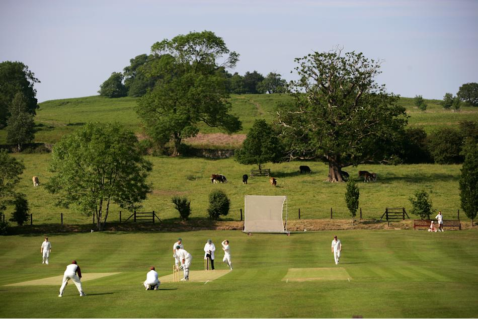 From The Boundary's Edge - Village Cricket