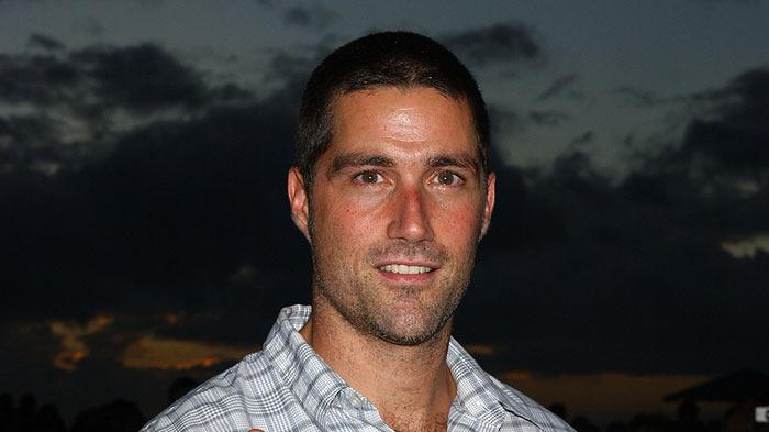 "Matthew Fox at the ""Lost"" Season 2 Premiere."