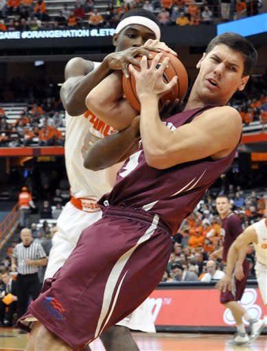 No. 6 Syracuse cruises by Colgate 87-51