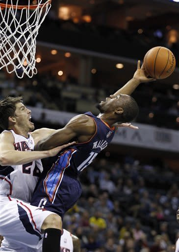 Horford leads Hawks to 101-91 win over Bobcats