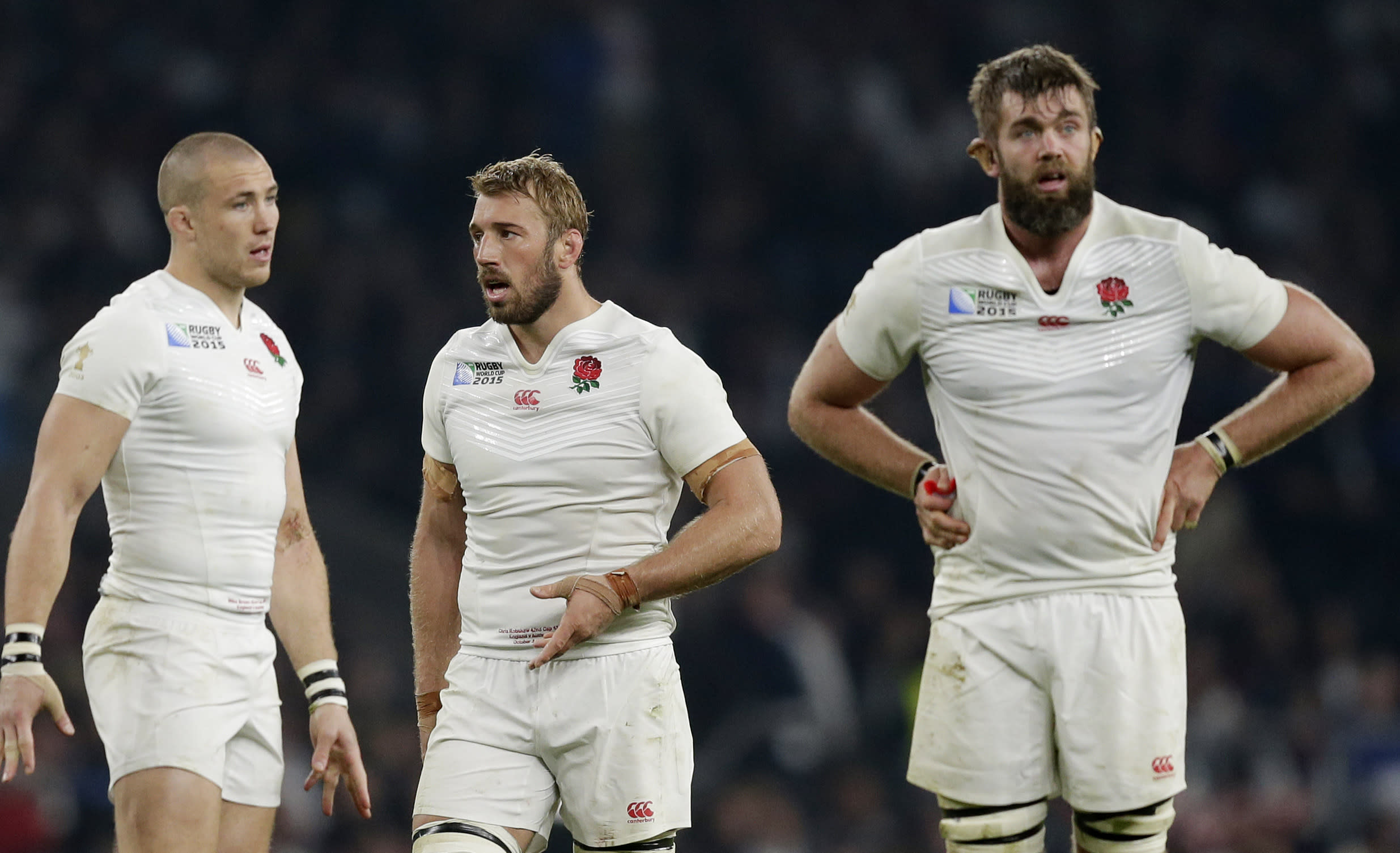 Rugby-England dumped out of the World Cup by Australia