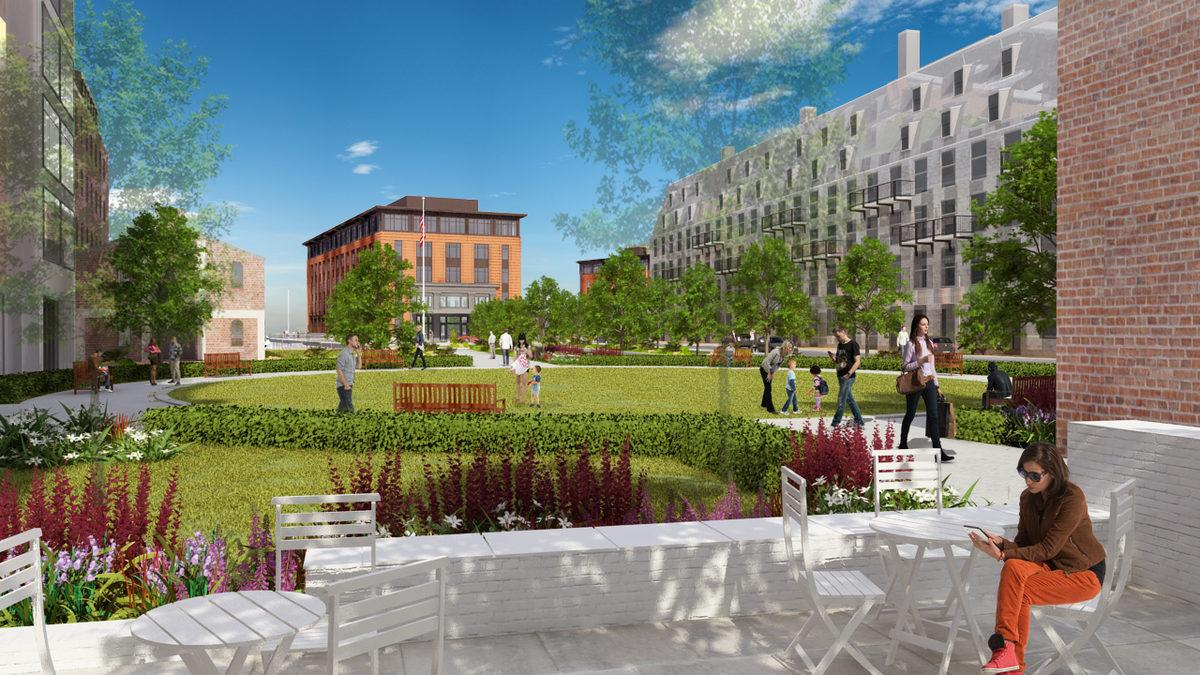 Latest Lewis Wharf Hotel Renderings Have a Point to Make