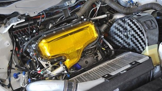 Honda WTCC HR412E engine