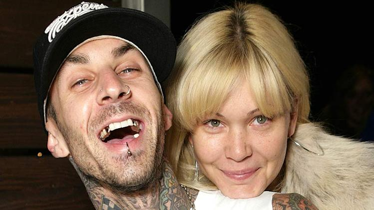 Travis Barker and Shanna Moakler