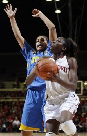 No. 6 Stanford women beat No. 14 UCLA 75-49