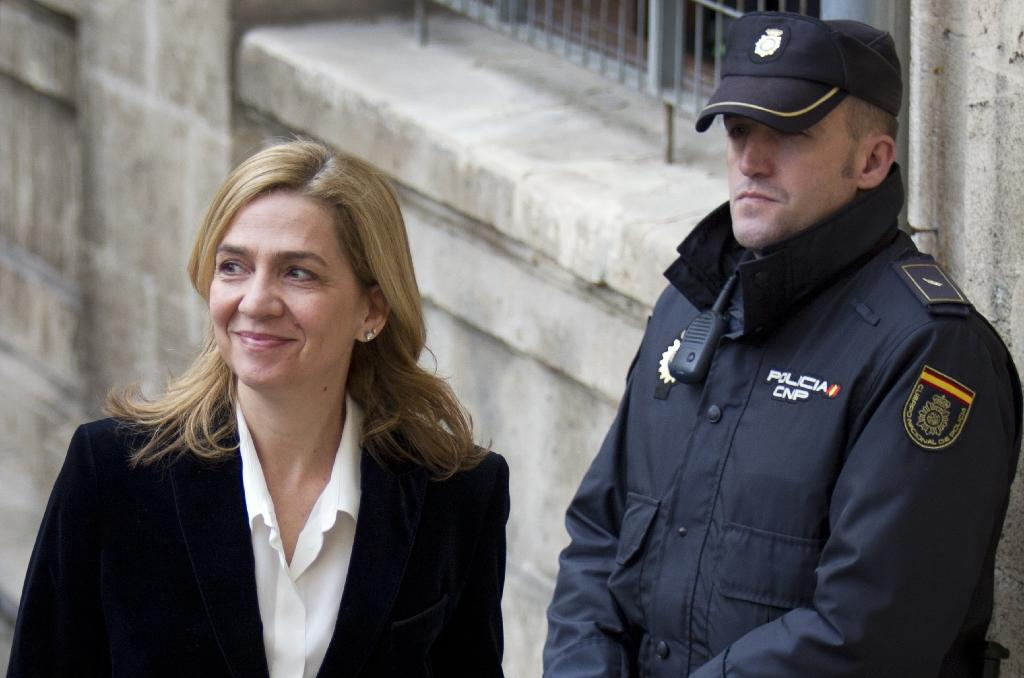 Spain court sets date for trial of Princess Cristina