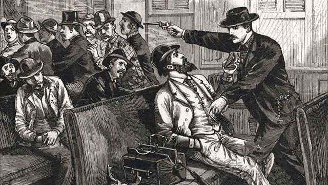 Almanac: America's first train robbery