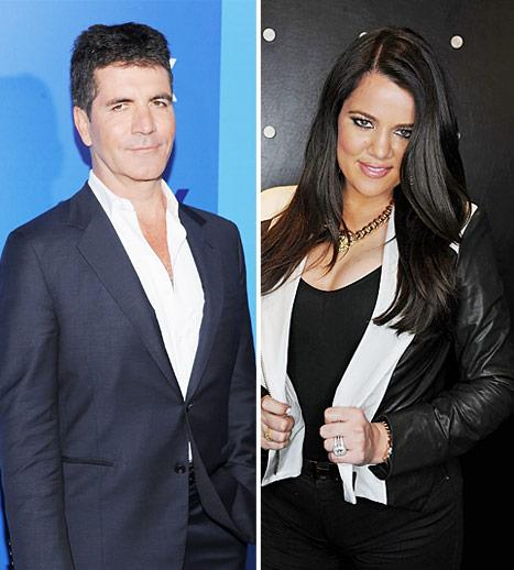 "Simon Cowell: Khloe Kardashian ""Wants to Prove a Point"" as X Factor Host"