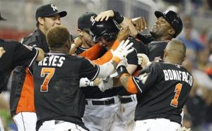 Sanchez lifts Marlins past Astros 5-4 in 11th