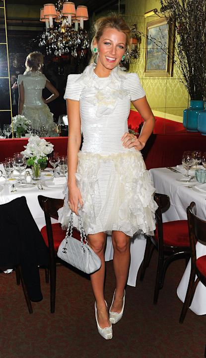 Every Girl's Dream Dinner (Chanel Honors Blake)