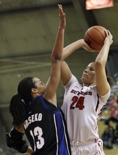 No. 24 Rutgers women beat Seton Hall 62-39