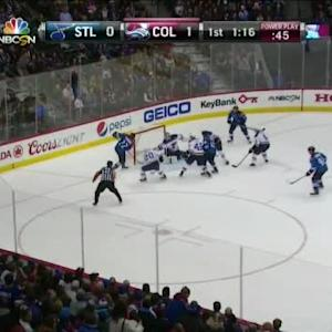 Zach Redmond Goal on Jake Allen (18:45/1st)