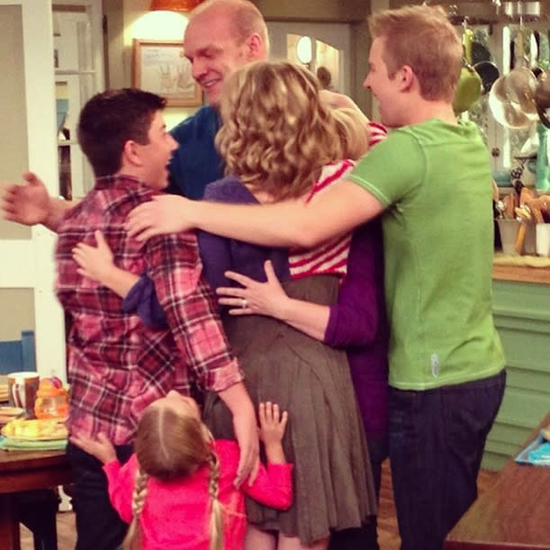 All of my love to the cast and crew of Good Luck Charlie… The best four years of my life