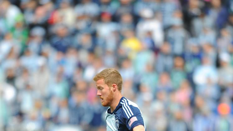 MLS: Chicago Fire at Sporting KC
