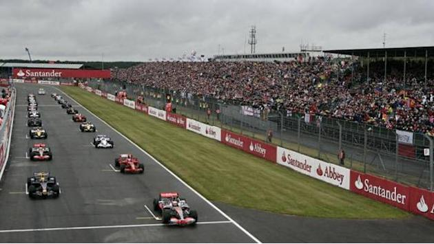 Formula 1 - Silverstone test open to the public