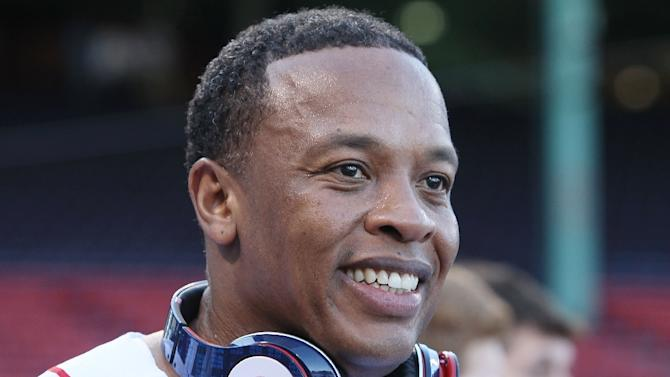 Dr. Dre, pictured in 2010, has become one of music's richest businesspeople and works with Apple