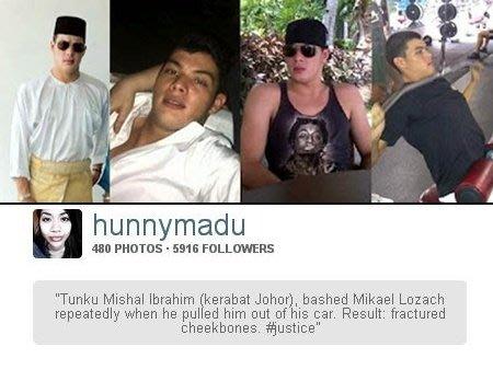 Identiti kerabat Johor yang didakwa memukul SonaOne didedahkan