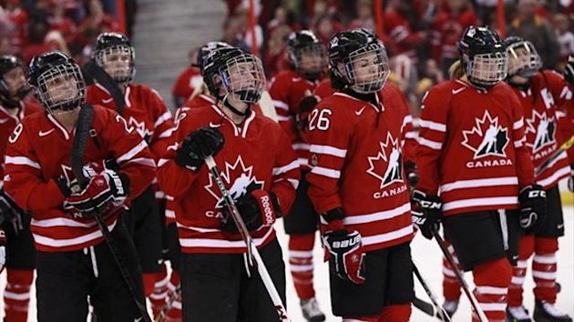 Canada's women's ice hockey team (Reuters)