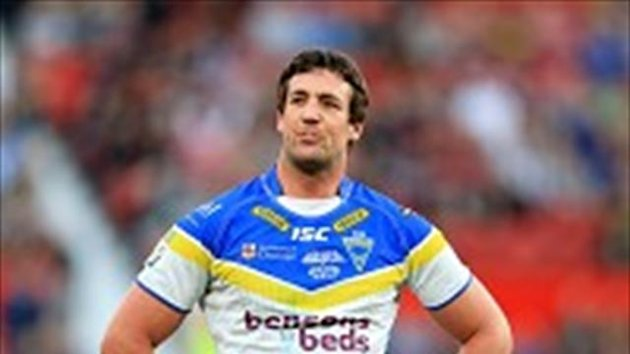 Trent Waterhouse will return for Warrington on Friday