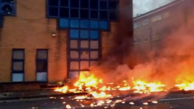 London Helicopter Crash:  2 Dead, at Least 13 Injured