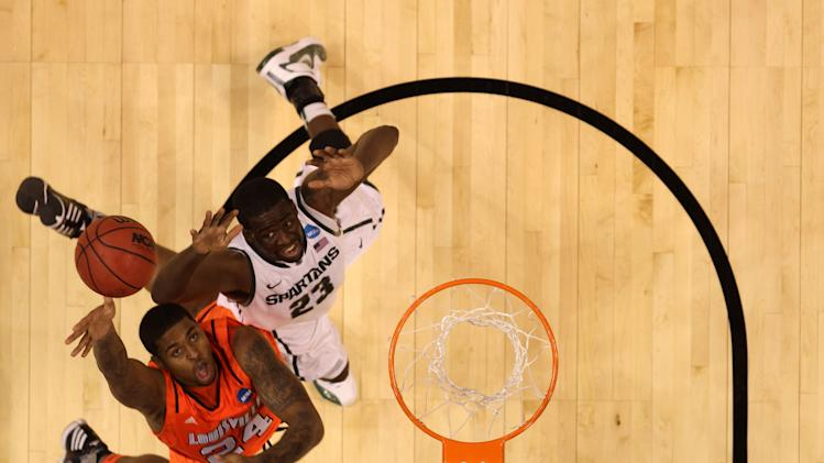 NCAA Basketball Tournament - Louisville v Michigan State