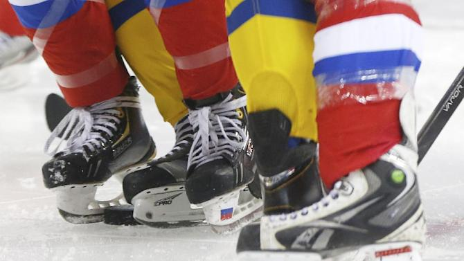 Russia beats Sweden 3-1 in Olympic women's hockey