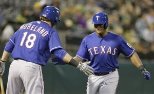 Rangers beat A's 6-5 on 2 homers in 10th inning