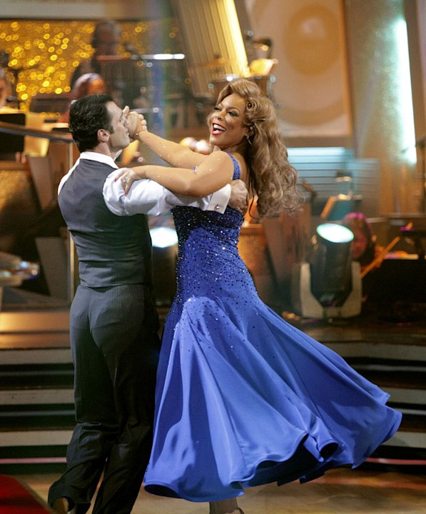 Wendy Williams and Tony Dovolani perform on &quot;Dancing with the Stars.&quot; 