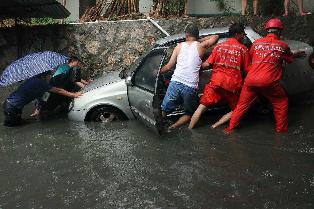 Heavy rain in China kills 35, leaves 13 missing: media