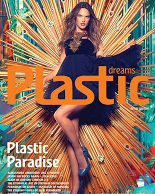 Alessandra graces the cover of Plastic Dreams Issue 7