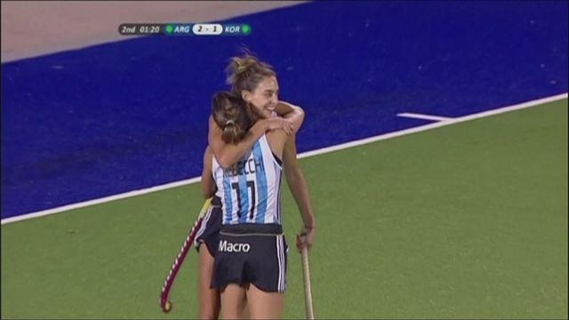 Argentina beat Korea 3-1 to reach last four of Women's World League