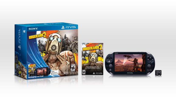 $200 PlayStation Vita '2000′ Borderlands 2 bundle invades U.S. this spring