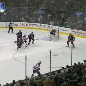 Curtis McElhinney Save on Marek Zidlicky (14:57/2nd)
