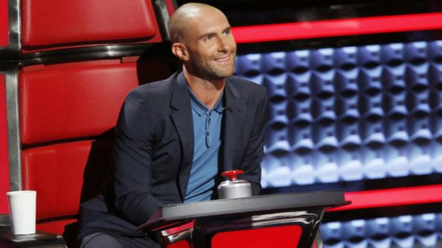 Adam Levine's Bald Look Made Its Debut on 'The Voice' and Inspired the Best Memes