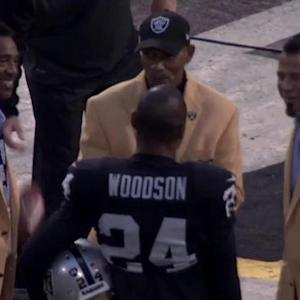 'Sound FX': Oakland Raiders cornerback Charles Woodson makes history