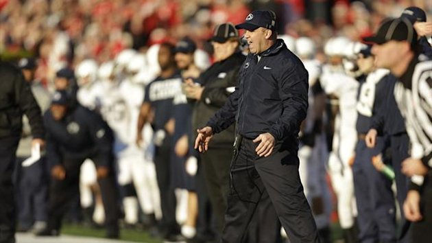 Bill O'Brien, former head coach of the Penn State (AFP)